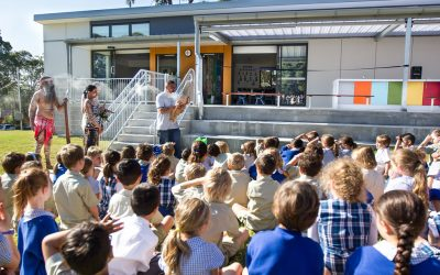 Welcome Ceremony Held for Classroom Built by Orana