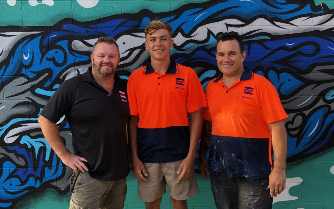 Orana Indigenous Trades Team Continue Great Work at La Perouse Public School